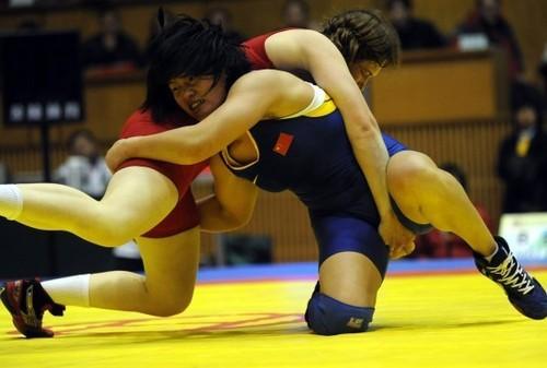 女子摔跤 搜搜百科