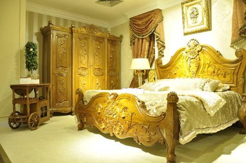 欧式家具雕花图案寓意