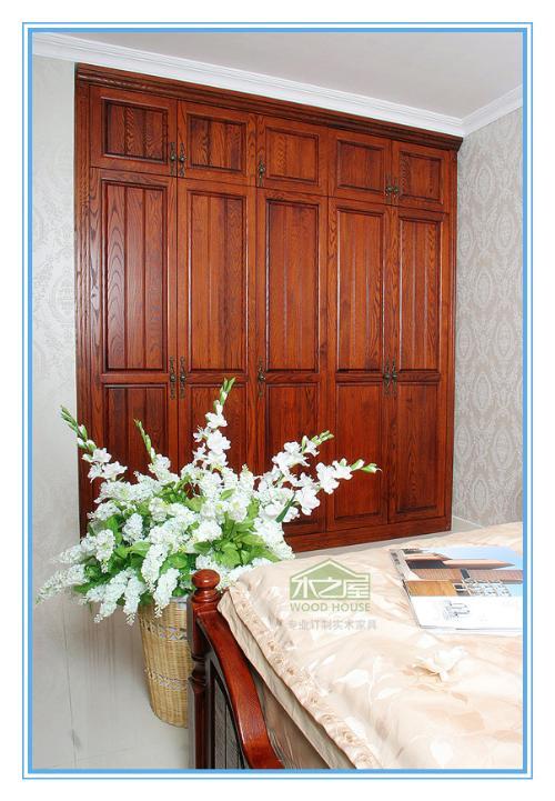 红橡木衣柜;; 卧室衣柜