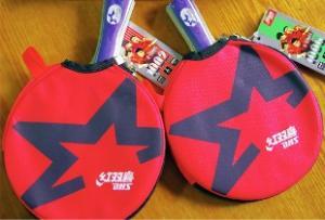 乒乓球拍保养简单地可概括为三句话:底板防受潮