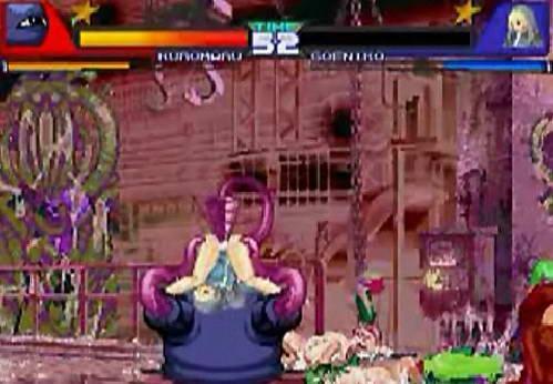 在格斗游戏中 触手就是一些高手的意思