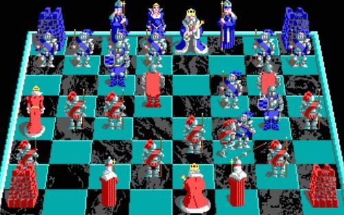 决战西洋棋图片