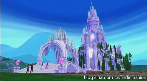 欧式城堡卡通图片