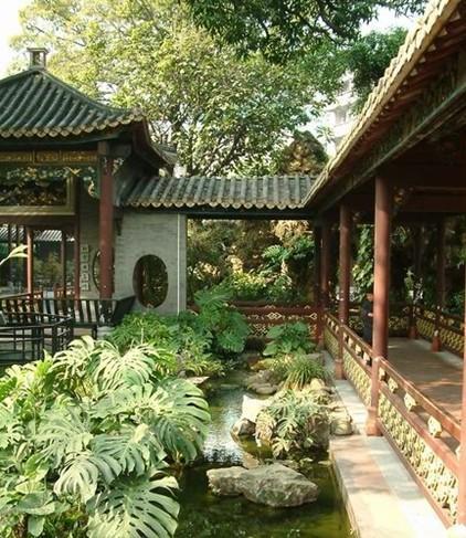 """一般园林院落的主体是由单体建筑充任的,也就是《园治》中立下的""""凡图片"""
