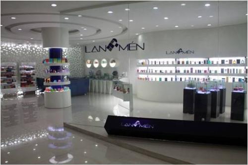 兰门香水展厅