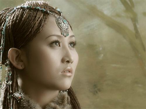 四川音乐学院声乐系  二,央金简介   你有一个花的名字美丽姑娘卓玛啦图片