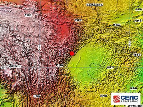 地震前兆地表活动(示意图)