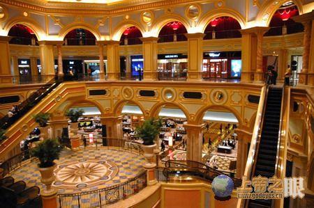 澳门有赌城,赌埠之称,与蒙特卡洛
