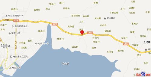 电白县陈村镇地图