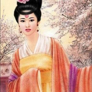 唐朝贵妃发型步骤