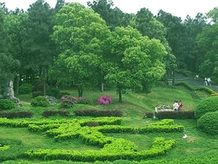 植物园,天际岭国家森林公园和湖南省野生动物救护繁殖中心(三块牌子