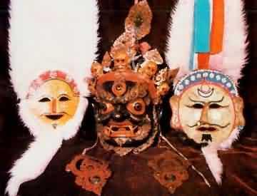 素描藏族动物图片