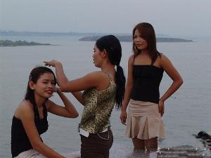 柬埔寨女人村位于柬埔寨戈