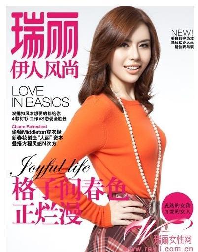 2016冬季瑞丽杂志服装搭配图片