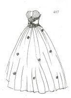 婚纱在款式上分为以下几类:   公主型       蓬裙型       拖尾图片
