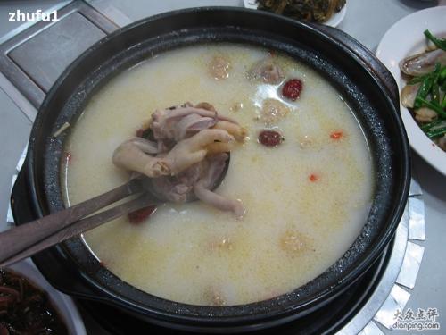 白果玉竹猪肚煲