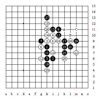 五子棋技巧图片