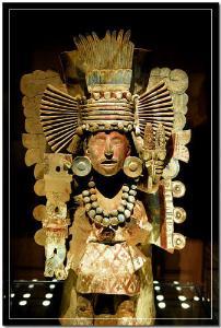 可能由于玉米生长过程中常遇到许多自然灾害,玛雅玉米神有不少敌人.