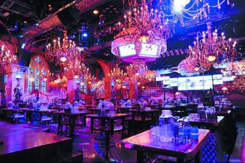 上上酒吧是全国著名的酒吧连锁企业