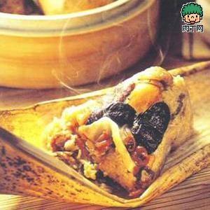 棕叶编织粽子图解