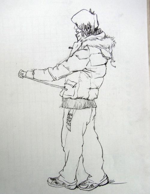速写服装手绘图片