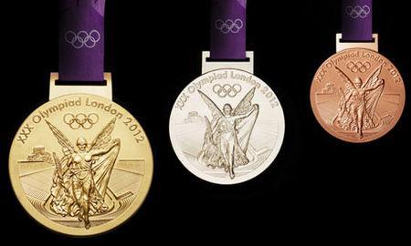 2012年伦敦奥运会奖牌图片