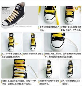 鞋带   非主流鞋带系法