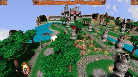 全部版本 历史版本  《中世纪塔防2》画面精致的3d塔防游戏,你需要在