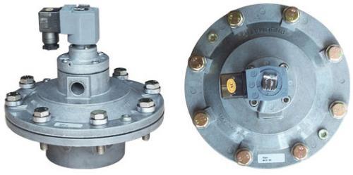 淹没式电磁脉冲阀是脉冲袋式除尘器清灰喷吹系统的图片