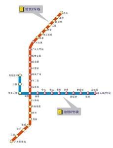 广州地铁8号线图片