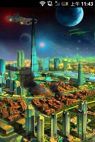 太空科幻室内建筑