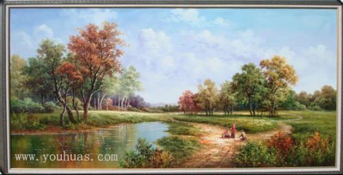 田园风光油画