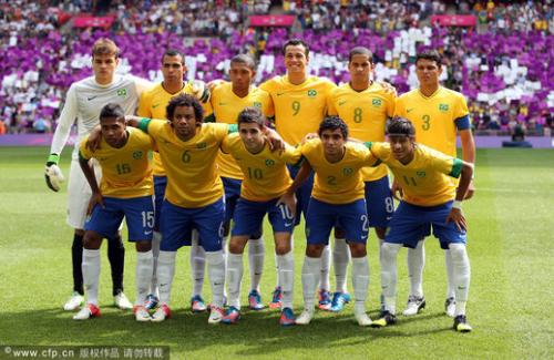 足球队_出征2014巴西世界杯哪些品牌为国家足球队量