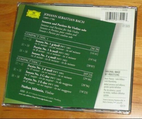 巴赫的小提琴奏鸣曲