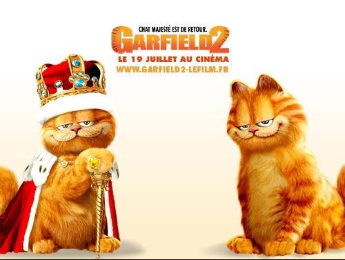 一次偶然的事件中,加菲被误认为是一只跟它长得十分相似的皇室血统猫