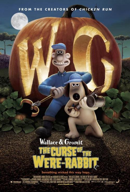 超级无敌掌门狗 人兔的诅咒的海报
