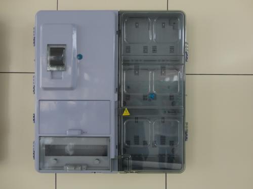 防火开关和计量电表接线
