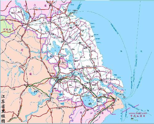 印象苏州手绘地图