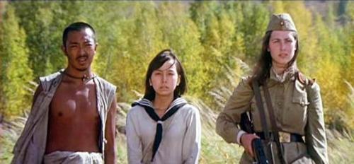 杨玉福在电影 紫日 中