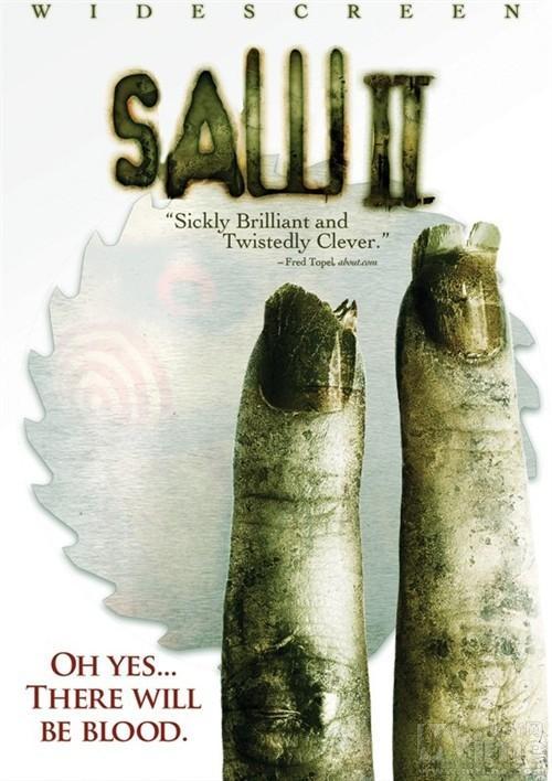 电锯惊魂2 海报《电锯惊魂》,2004年出品的恐怖惊悚片,由詹...