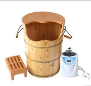蒸糯米酒的木桶图片
