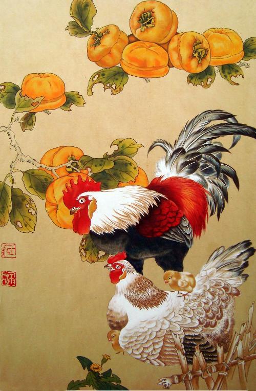 手绘吃鸡人物图片