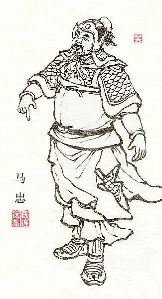 三国人物卡通简笔图片
