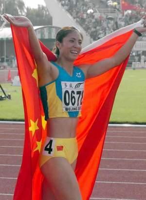 田径运动员李雪梅