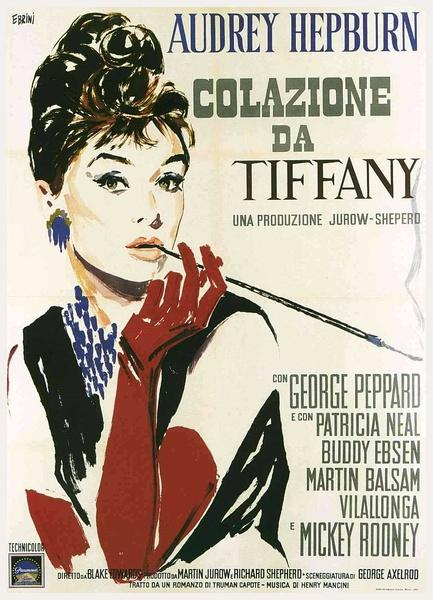 《蒂梵尼早餐》海报《蒂梵尼早餐》由20世纪60年代最具有...