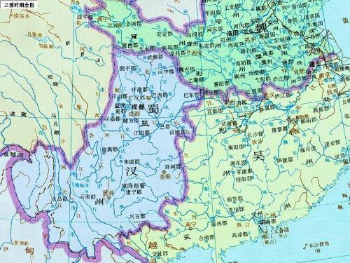 三国详细地图全图高清版_三国地图全图超大图【相关词_ 三国地图精确到县】 - 随意贴