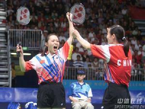 ...羽毛球系列大奖赛第二站——中国台北羽毛球公开赛,与刘永合...
