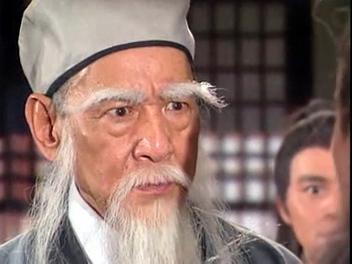 鲍方饰演的扫地僧(无名神僧)图片