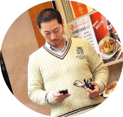 演员邓浩光生活照片