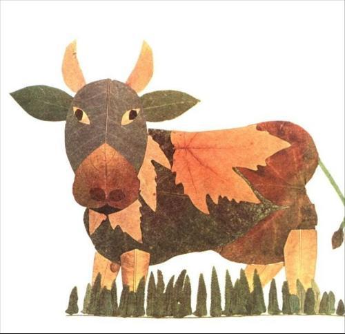 发挥想象力,自由构图,拼出各种动物,人物等充 满童真趣味的图画,令人